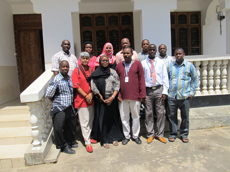 Zanzibar Staff